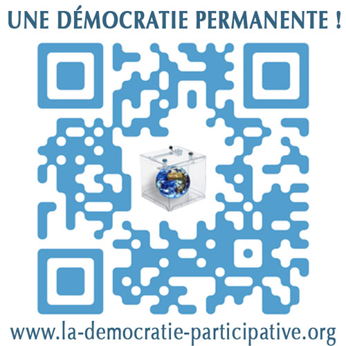 Campagne de communication QR code de La Démocratie Participative : Nature, Social, Local..